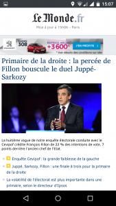 Accueil du site mobile m.lemonde.fr